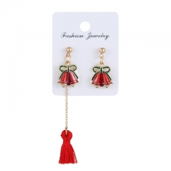 Littledesire Christmas Jingle Bell Earring