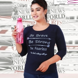 Littledesire Printed Cotton Women T-Shirt