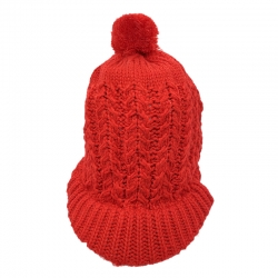 Winter Fashion Warm Wool Knit Pom Pom Hat Cap