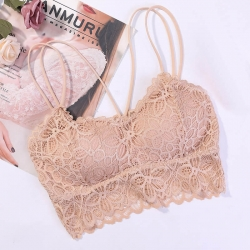 Floral Lace Non-Wired Lightly Padded Bralette