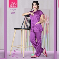 Littledesire Short Sleeve Top & Pajama Night Suit