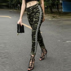 Camouflage Army Print Joggers Jeans