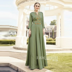 Littledesire Latest Stylish Embroidered Work Gown