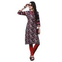 Littledesire Women Daily Wear Floral Printed Cotton Kurta