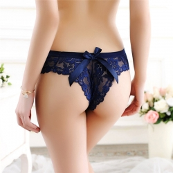 Lace G string Transparent Panty