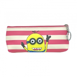 Printed Cartoon waterproof Pencil Box With Key Ring