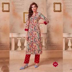 Littledesire Printed Kurta With Bottom