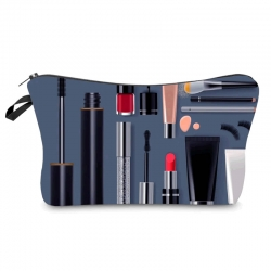 Makeup Travel Pouch Toiletry Organizer Bag