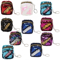 Birthday Party Return Gifts Sequins Mini Wallet 10 Pcs Random color
