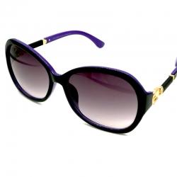 Women Gradient Lens Round Square Sunglasses