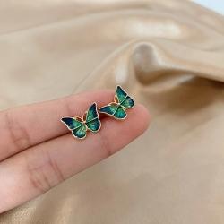 Cute Butterfly Small Stud Earrings