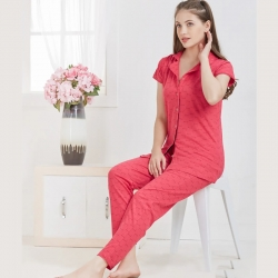 Cute Top & Pajama Set Sleepwear for Girls
