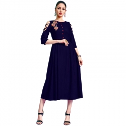 Littledesire Latest Stylish Embroidered Midi Dress