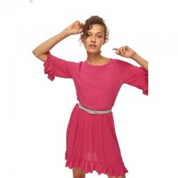 Littledesire Ruffle Short Sleeve Casual Mini Dress