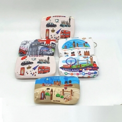 Littledesire Printed Handy Clutch Mini Wallet (6 Pcs)