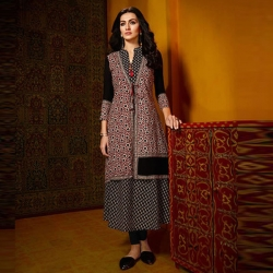 Littledesire Printed Work Stylish Long Kurta
