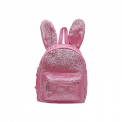 Littledesire Cute Rabbit Shoulder kids Glitter Backpack-10 inch
