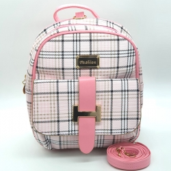 Littledesire PU Leather Backpack- 9.5 inch