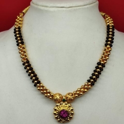 Antique Gold Handcrafted Necklace